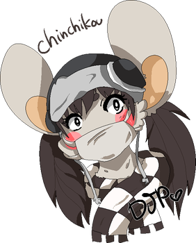 Chinchikou [Draw the mouse above you] by Djpgirl