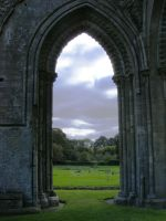 Glastonbury Abbey 35 by LadyxBoleyn