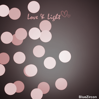 Bokeh Light and Love texture by bluezircon-graphics