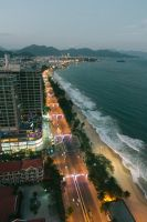 Nha Trang shore by night by mitazu08