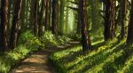 Forest Path by dreamin-Lea