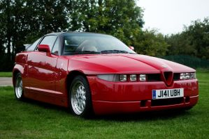 Alfa Romeo SZ by FurLined