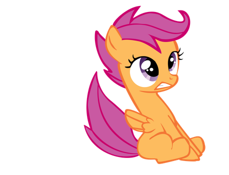 Apprehensive Scootaloo by conor-figgy