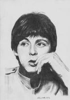 Paul McCartney by SallyRonchetti