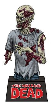 TWD ZOMBE 1 Bust Bank by YURIART
