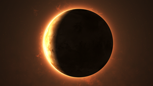Eclipse nov 15 2014 by Archange1Michael