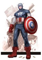 Captian America by dogsup