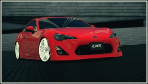 Toyota GT 86 (Gran Turismo 6) by Vertualissimo