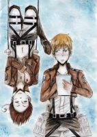 GerIta:Attack on...Hetalia? by TiaSunflower