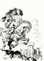 Conan the Barbarian by Aldagon