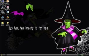 Hag With Beauty in the Bag by Fruityla