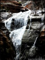 Water Over the Rocks by jltrafton