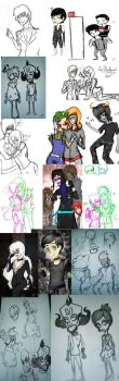 yet another sketch dump part 2 by candiiapple101