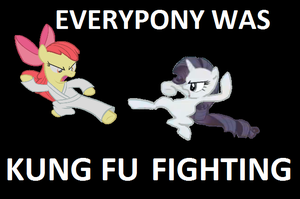 Pony-Style Kung Fu by ColtintheMoon