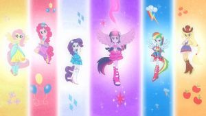 Equestria Girls Wallpaper by Micoolman
