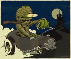 Mummy Ratrod by LogicalOperator