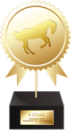 4 Stars Collected - Trophy by SilviasDesires
