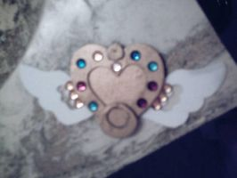 Eternal Sailor Moon Brooch 1 by AJAngelique