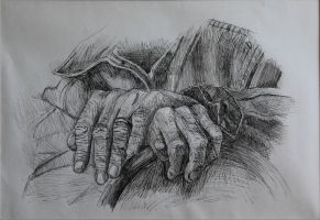 Old Hands by daxicut