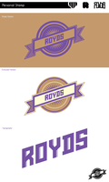 Stamp by Royds