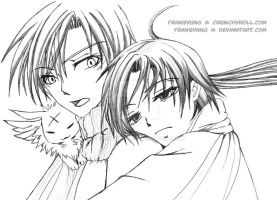 Hakuren x Teito full of LOVE by fransyung