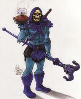 Skeletor by Phraggle