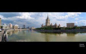 Moscow by Pluhpluh