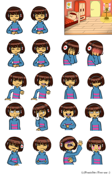 Frisk reacts - Free Use by Prasiolite