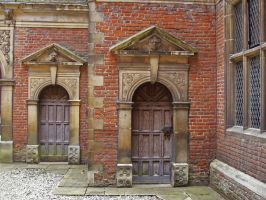 Double Tudor Doors by fuguestock