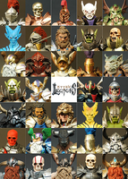 Mythic Legions Headshots by FourHorsemenStudios