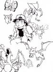 Pokemon Drawings by blue-ember333
