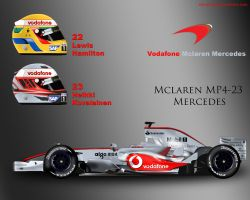 McLaren MP4-23 by ShinjiRHCP