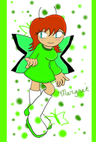 Margret the Butterfly by shadowstarfoxDS