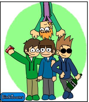 Edd, Matt, Tom and Paul by BinkToons