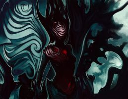 Forest evil spirit by Sidwill