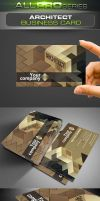 Architect Business Card by ravirajcoomar