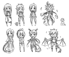 PC: Sketch Cheebs by ChikitaWolf