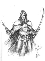 Drizzt Do'Urden by troubadour93