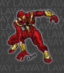 Iron Spiderman Coloured by AngelCrusher