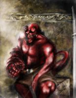 Hellboy by Sensational22