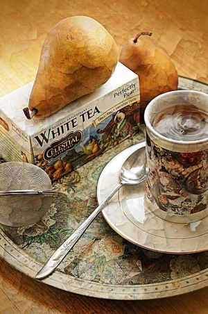 perfectly pear white tea by courey
