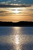 Serenity of the sunset at the beach, part II by nfp