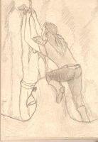 Fingon and Maedhros by PyriteWolf