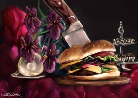 Burger by GodOfBadWeather