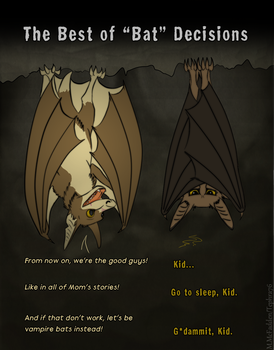 The Best of 'Bat' Decisions by Tephra76