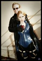 Jill Valentine and Albert Wesker P30 Device by JonathanDuran