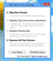 Skip Metro Suite for Windows 8 by hb860