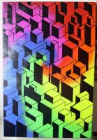 Psychedelic Geometry.. by thekeviiings