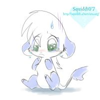 Panda Triste by StePandy
