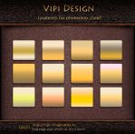 Gradients for photoshop - GRD Gold by elixa-geg